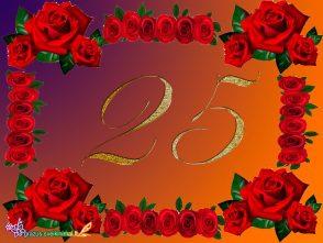 25 - tuoju gimtadieniu