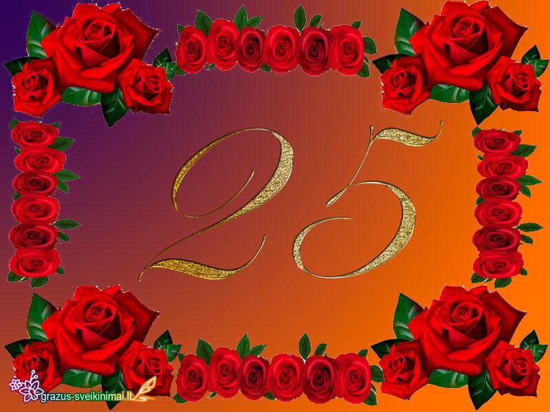 25-gimtadieniu