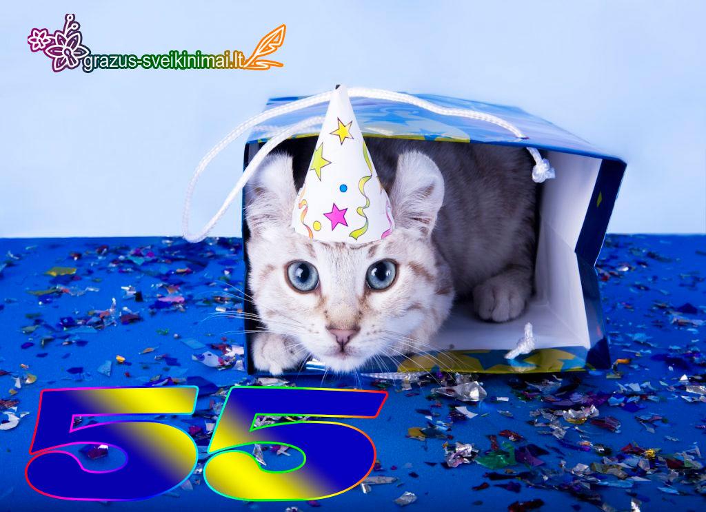 55-gimtadienis