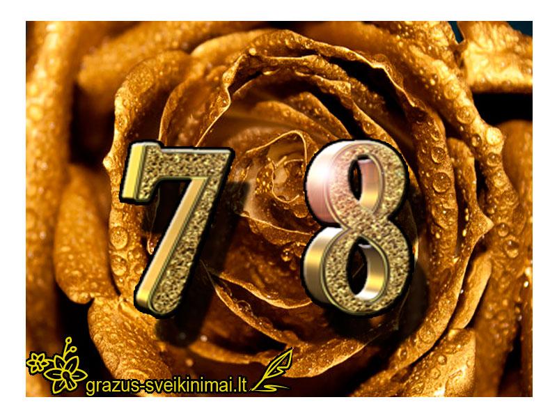 78-gimtadienis