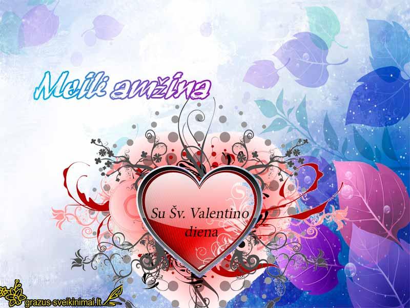 Šv. Valentino dienai