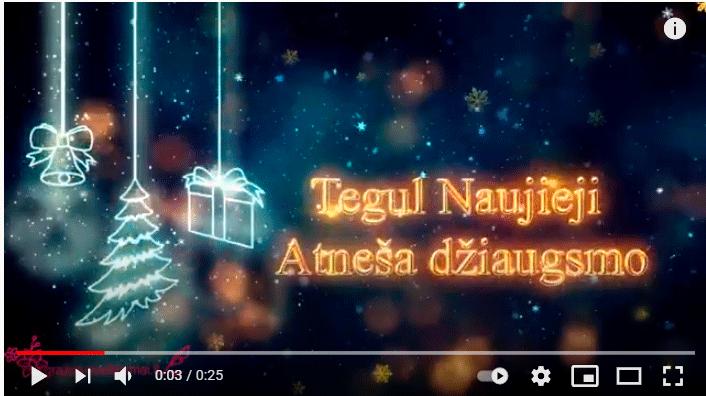 Su Naujaisiais 2021 metais video
