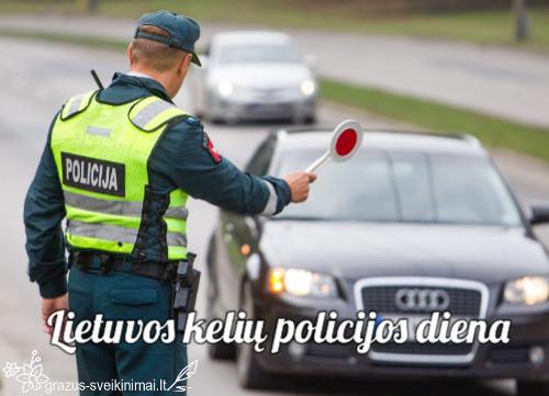 Su kelių policijos diena
