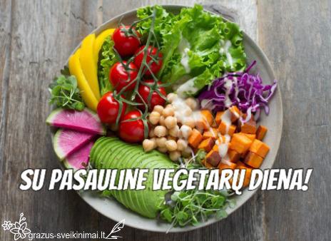 Vegetarų dienai paminėti